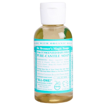 Dr. Bronner's - Magic Pure Castile Soap: Neutraal 59 ml, 240 ml, 475 ml of 945 ml Vanaf: