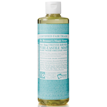 Dr. Bronner's - Magic Pure Castile Soap: Neutraal 475 ml