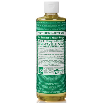 Dr. Bronner's - Magic Pure Castile Soap: Amandel 475 ml
