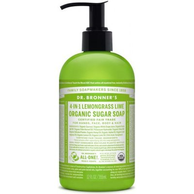 Dr. Bronner's - Shikakai Hand & Body Soap: Lemongrass - Lime 355 ml