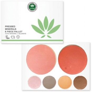 PHB Ethical Beauty - Pressed Mineral 6 Piece Pallet: For Day
