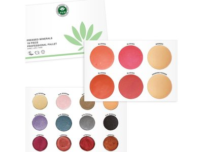 PHB Ethical Beauty - Pressed Mineral 18 Piece Pallet: Professional