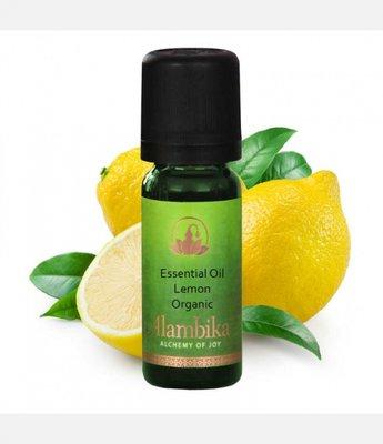 Alambika - Etherische olie: Lemon Yellow / Citroenolie Biologisch Gecertificeerd 10 ml