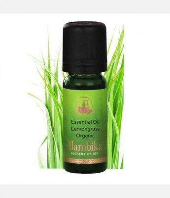 Alambika - Etherische olie: Lemongrass Biologisch Gecertificeerd 10 ml