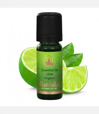 Alambika - Etherische olie: Lime /  Limoen Biologisch Gecertificeerd
