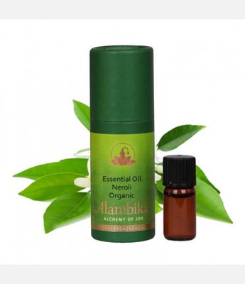 Alambika - Etherische olie: Neroli Biologisch Gecertificeerd 1 ml