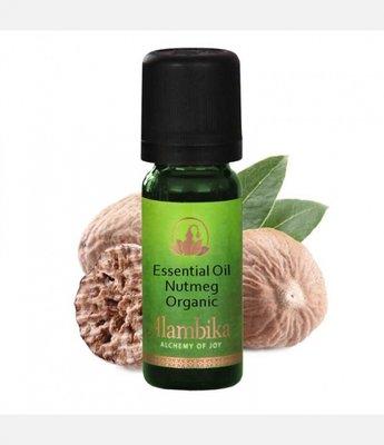 Alambika - Etherische olie: Nutmeg / Nootmuskaat Biologisch Gecertificeerd 10 ml