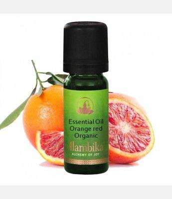 Alambika - Etherische olie: Orange Red / Rode Sinaasappel Biologisch Gecertificeerd (tht: 01-2020)