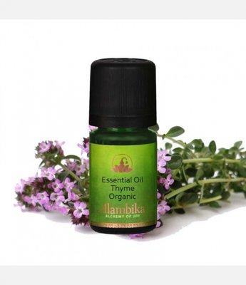 Alambika - Etherische olie: Thyme Mild (Linalool) / Tijm Biologisch Gecertificeerd