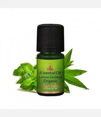 Alambika - Etherische olie: Verbena  (Lemon Verbena) Biologisch Gecertificeerd 1 ml