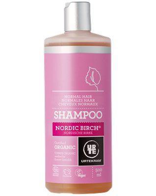 Urtekram - Shampoo Nordic Birch Voor Normaal Haar 500 ml