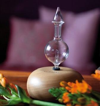 Alambika - Crystal Diffuser Met Houten Voet