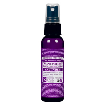 Dr. Bronner's - Hand Sanitizer Spray Lavendel