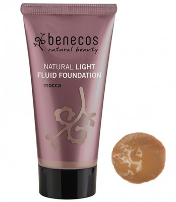Benecos - Natural Light Fluid Foundation: Mocca