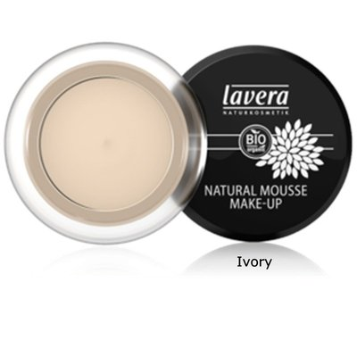 Lavera - Natural Mousse Make-up: Ivory 01
