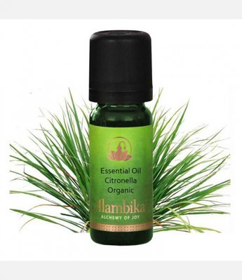 Alambika - Etherische olie: Citronella (Java-type)  Biologisch Gecertificeerd 30 ml
