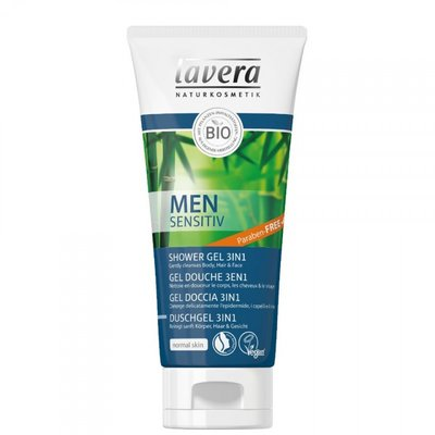 Lavera - Men Sensitiv: 3-IN-1 Shower Shampoo