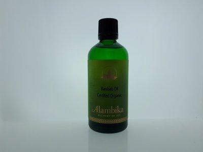 Alambika - Basis olie: Baobab Olie Biologisch Gecertificeerd 100 ml