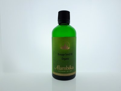 Alambika - Basis olie: Borage Seed Olie Biologisch Gecertificeerd 50 ml