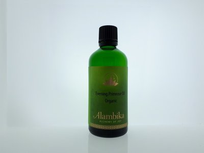 Alambika - Basis olie: Evening Primrose / Teunisbloem Olie Biologisch Gecertificeerd 100 ml