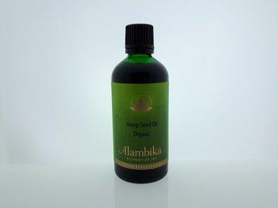 Alambika - Basis olie: Hennepzaad Olie Biologisch Gecertificeerd 100 ml