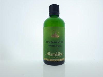 Alambika - Basis olie: Granaatappelzaad Olie Biologisch Gecertificeerd 50 ml
