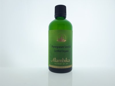 Alambika - Basis olie: Granaatappelzaad Olie / Pomegranate Seed Oil Biologisch Gecertificeerd 100 ml