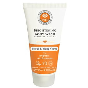 PHB Ethical Beauty - Brightening Body Wash: Neroli & Ylang Ylang TRAVELSIZE