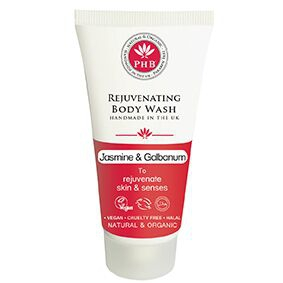 PHB Ethical Beauty - Rejuvenating Body Wash: Jasmine & Galbanum TRAVELSIZE