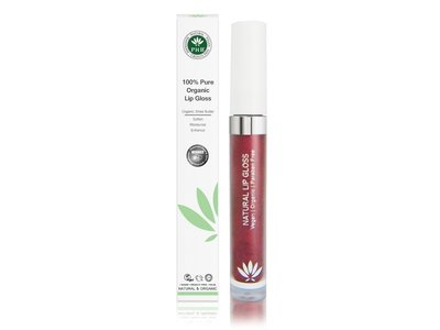 PHB Ethical Beauty - Natural Lipgloss: Plum