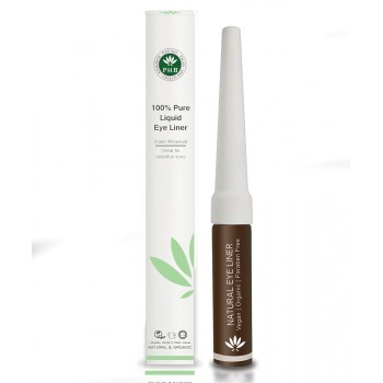 PHB Ethical Beauty - Natural Organic Liquid Eyeliner Brown