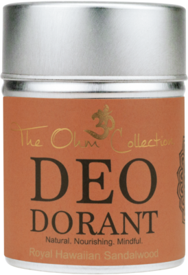 The Ohm Collection - DEOdorant Poeder Sandalwood 120 gr.