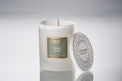 Collines De Provence - Geurkaars: Ceder
