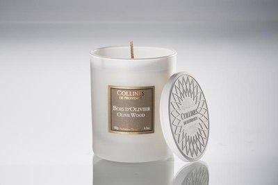 Collines De Provence - Geurkaars: Olive Wood