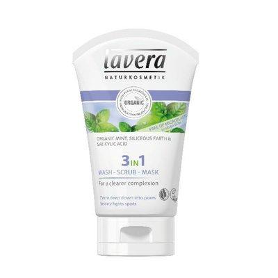 Lavera - 3 In 1 Wash Scrub & Mask