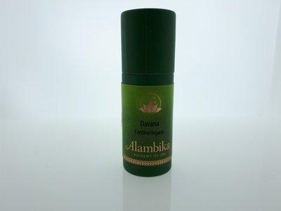 Alambika - Etherische olie: Davana Biologisch Gecertificeerd 1 ml (tht: 03-2020)