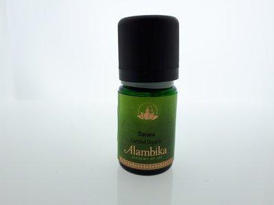 Alambika - Etherische olie: Davana Biologisch Gecertificeerd 3 ml (tht: 03-2020)