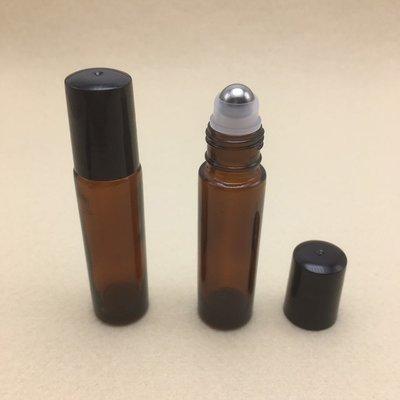 Navulbaar Flesje: 10 ml Roll-On Stalen Kogel
