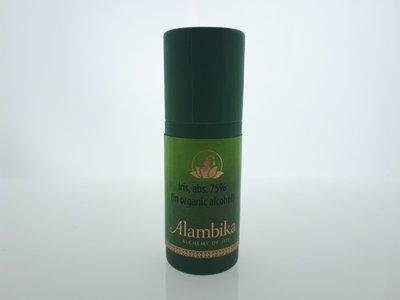 Alambika - Iris, Abs. 75% (in organic alcohol)