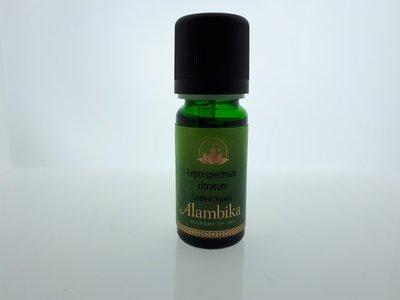 Alambika - Etherische olie: Leptospermum Citratum Wildcrafted Biologisch Gecertificeerd 5 ml