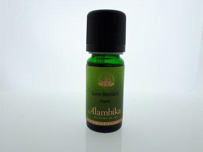Alambika - Etherische olie: Green Mandarine Biologisch Gecertificeerd