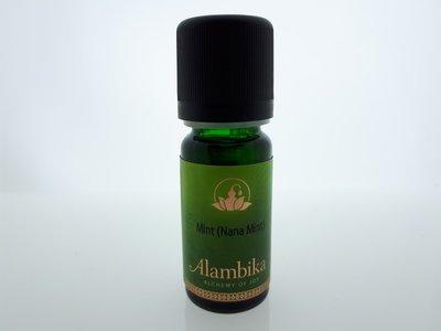 Alambika - Etherische olie: Nana Mint / Kruizemunt (tht: 03-2020)