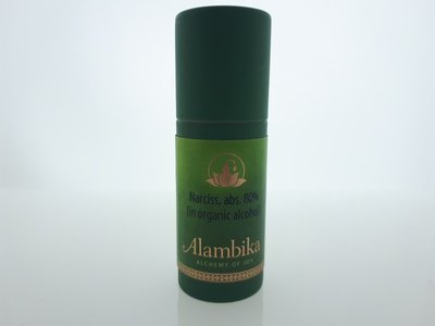 Alambika - Narciss, Abs. 80% (in organic alcohol)  (tht: 03-2020)