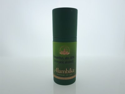 Alambika - Osmanthus, Abs. 80% (in organic alcohol) (tht: 03-2020)