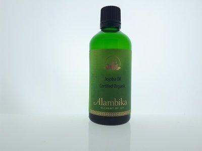 Alambika - Basis olie: Jojoba Olie Biologisch Gecertificeerd 100 ml