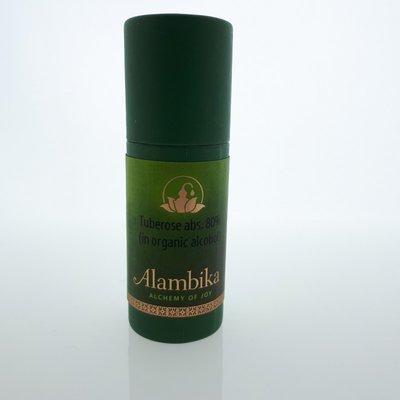 Alambika - Tuberose, Abs. 80% (in 20% organic alcohol)