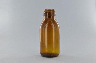 Navulbaar Flesje: Amber Glas 100 ml
