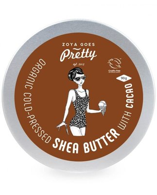 Zoya Goes Pretty - Shea Butter & Cacao Butter Blik 90g
