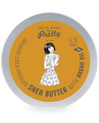Zoya Goes Pretty - Shea Butter & Argan Oil Blik 90g (tht: 06-2021)