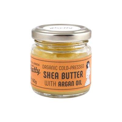 Zoya Goes Pretty - Shea Butter & Argan Oil Jar 60g